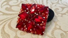 Резинка для волос с кристаллами