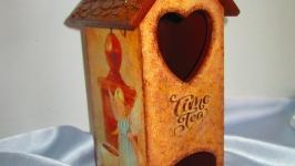 Чайный домик ′Чайные феи′, для пакетиков чая, для кухни