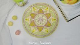 Декоративная тарелка ′Оливка′