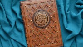 Блокнот ′ГРИФОН′ (Ежедневник в кожаной обложке)