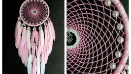 Ловец снов-нежно розовый 3!