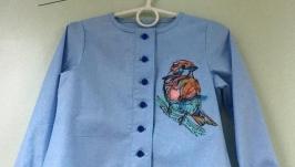 Рубашка птичка