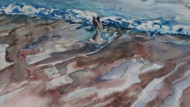 ′Понад хвилями′ (акварель)