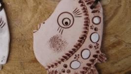 Керамическая рыба