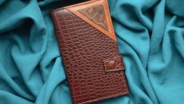 Кожаный кошелек ′РЫБЫ′