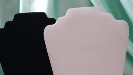 Подставка для бижутерии белая