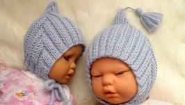 Весенняя шапочка-эльф для мальчиков и девочек