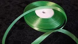 Атлас ярко-зеленый