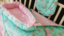 Детское одеяло-конверт, гнездышко и спальный мешочек Shabby Chic