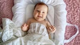 Гнездышко (кокон) для новорожденного со съемным чехлом