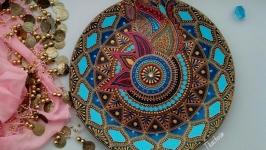 тарілка декоративна ′Яскрава Індія-2′