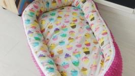 Кокон для ребенка (гнездышко, бебинест) Cakes