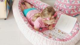 Кокон для ребенка (гнездышко, бебинест) Unicorns
