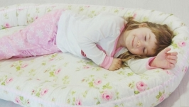 Кокон для ребенка (гнездышко, бебинест) Roses
