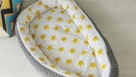 Кокон для ребенка (гнездышко, бебинест) Stars Smiles