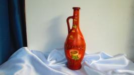 Декоративная бутылка для масла