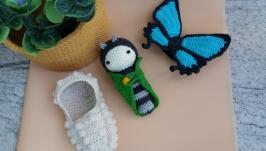 Бабочка ′Чёрный парусник Улисс′