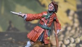 Оловянный солдатик. Пират, 18 век