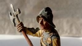 Оловянный солдатик. Немецкий пеший воин, 1500 год