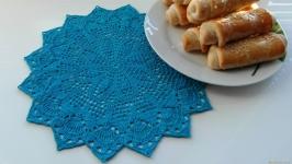 Серветка відтінки синього 3