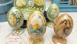 Яйца пасхальные писанки винтаж.