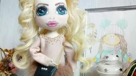 Кукла интерьерная Кудряшка