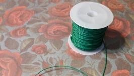 Шнур вощеный зеленый