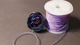 Шнур вощеный светло-фиолетовый
