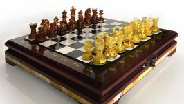 Янтарные шахматы Кёнигсберг