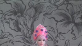 сувенирная кукла в национальном костюме.