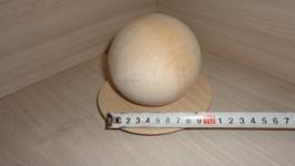Шар деревянный 10 см