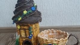Чайный домик и конфетница