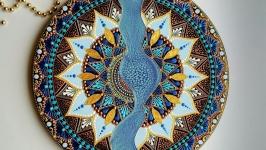 тарілка декоративна ′Водоспад′