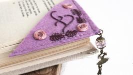 Именная закладка для книг уголок Подарок для балерины танцора