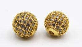 Бусина LUX Milano шарик золото