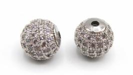 Бусина LUX Milano шарик серебро