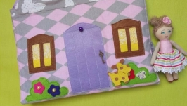 Игровая сумка-домик для девочки