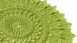 Серветка відтінки зеленого 3 (об′ємна)