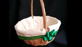 Easter basket, Easter basket, decorated basket, picnic basket