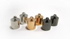 Колпачки 9,5 мм металлические