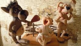 Компания из мультфильма ′Жил был пес...′
