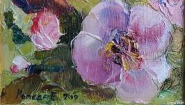 Орхидеи. Картина маслом.