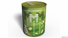 Консервоване Майно Майбутнього Мільйонера МММ - Оригіналний Подарунок