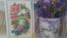 Открытка-конверт для денег ′Весна′