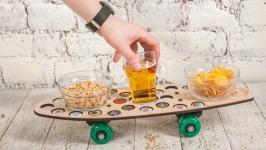 Подставка под пиво Поднос - столик для закусок CAPS DRIVE