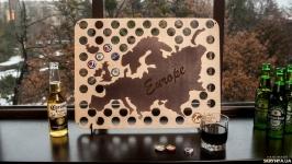 Для пивных крышек карта CAPSBORD EUROPE