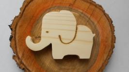 Игрушка слоник деревянная, заготовка