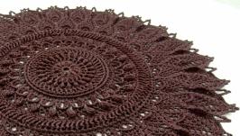 Серветка шоколадного кольору 3 (об′ємна)