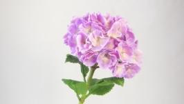 Цветы ручной работы. Гортензия. Декор для дома