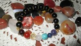 Чакровый браслет Гармонизация защита индивидуальный подбор камней